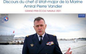 L'amiral Pierre VANDIER présente le GPEN 2021