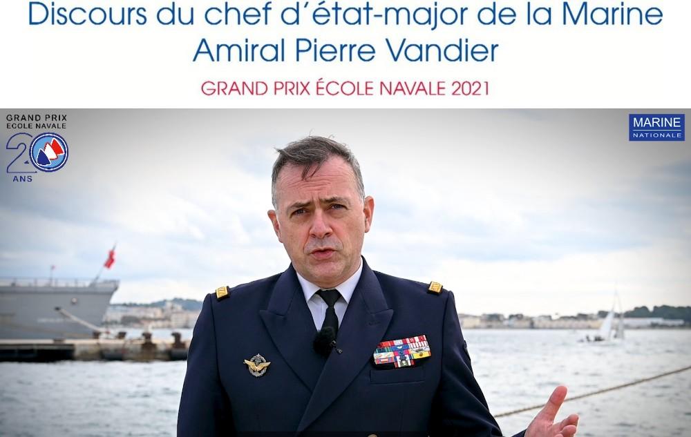 Amiral Pierre Vandier Président du GPEN 20121
