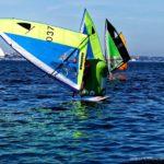 Médiathèque GPEN 2021, Windsurfers à Roscanvel © Claude BRETON