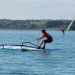 Windsurfer à Roscanvel GPEN 2021 Photographe:Pascal DAGOIS, Marine nationale
